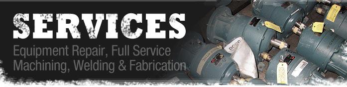 Repairs, welding and fabrication | B&H Machine Sales